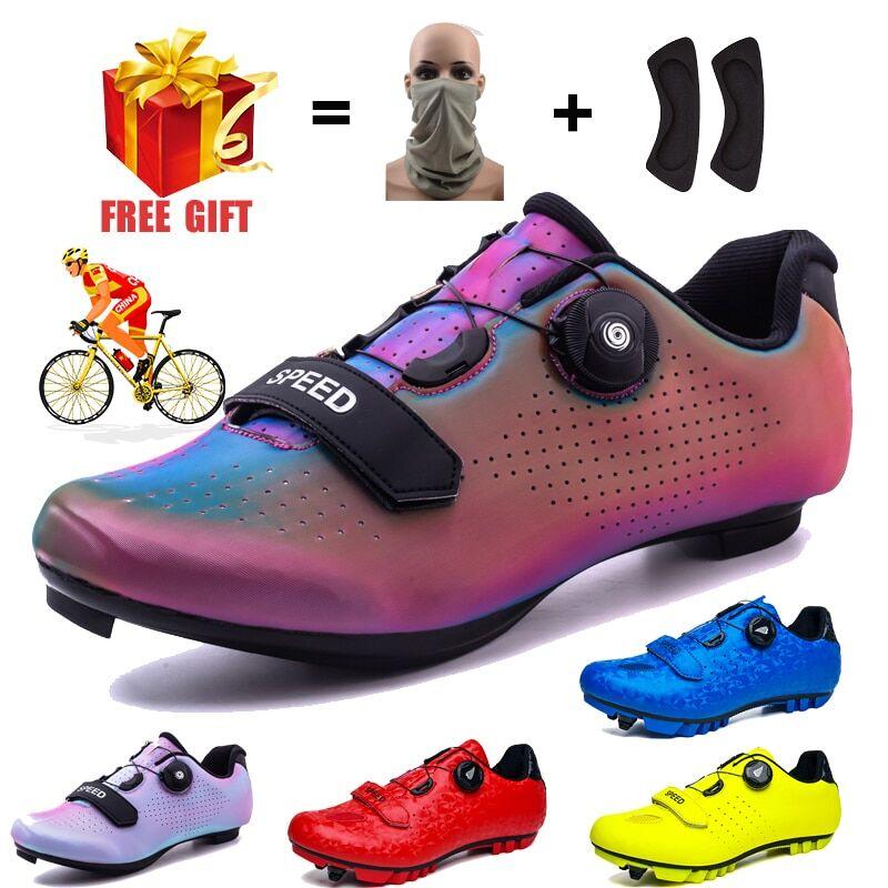 AliExpress SPD – chaussures de cyclisme de course sur route pour hommes et femmes, baskets de vélo, de