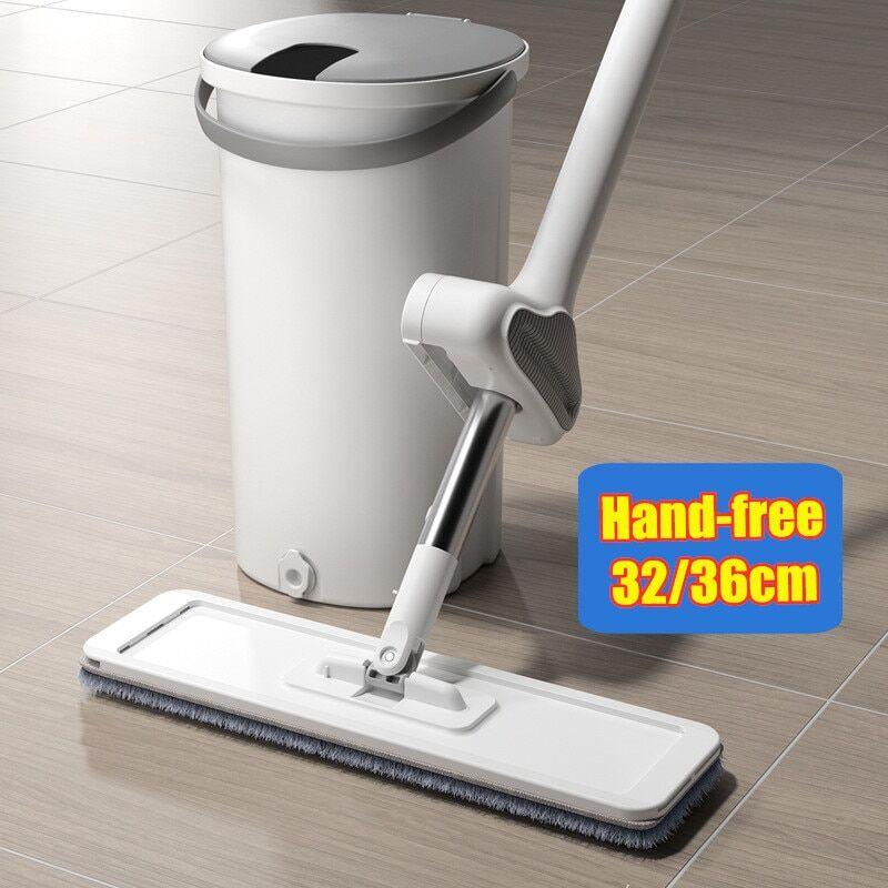 AliExpress Serpillière avec seau coulissant, outils d'auto-nettoyage pour le sol, aide à la maison, cuisine