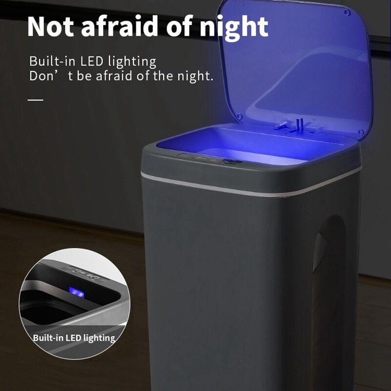 AliExpress Poubelle à induction intelligente poubelle automatique seau poubelle salle de bain pour cuisine Type
