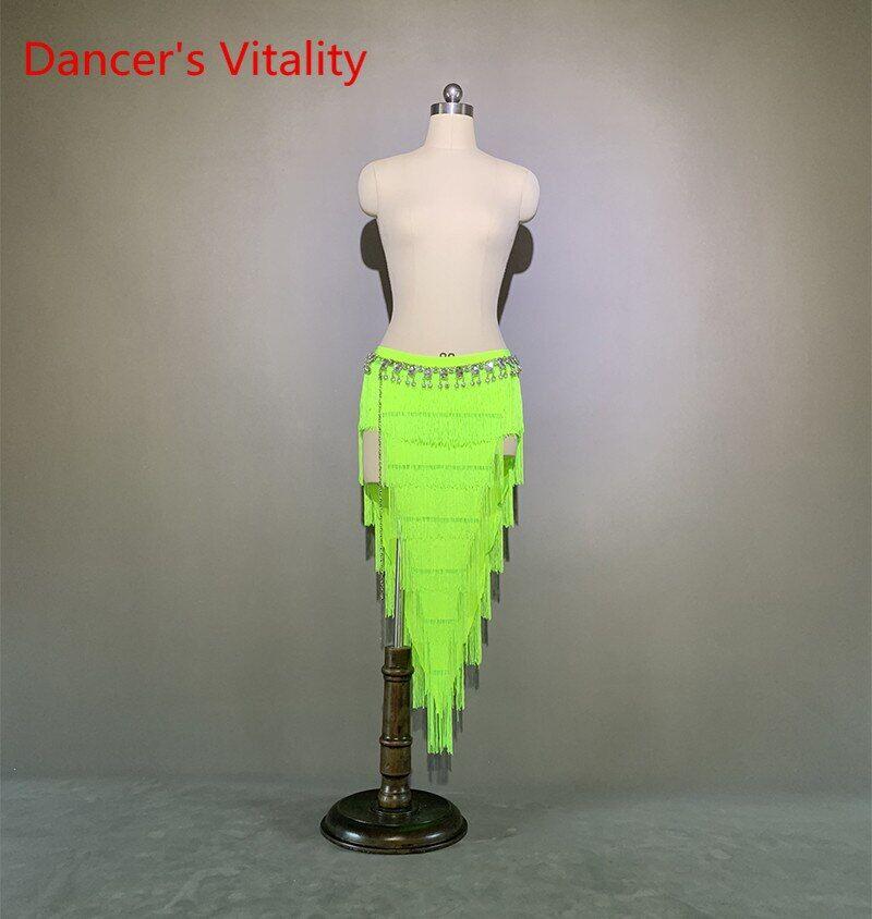 AliExpress Jupe de danse du ventre pour femmes, vêtements Sexy, robe de concours de danse latine, personnalisé,