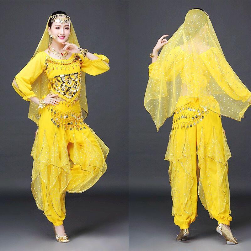 AliExpress Costumes indiens pour Performance sur scène pour adultes, tenue de danse orientale du ventre,