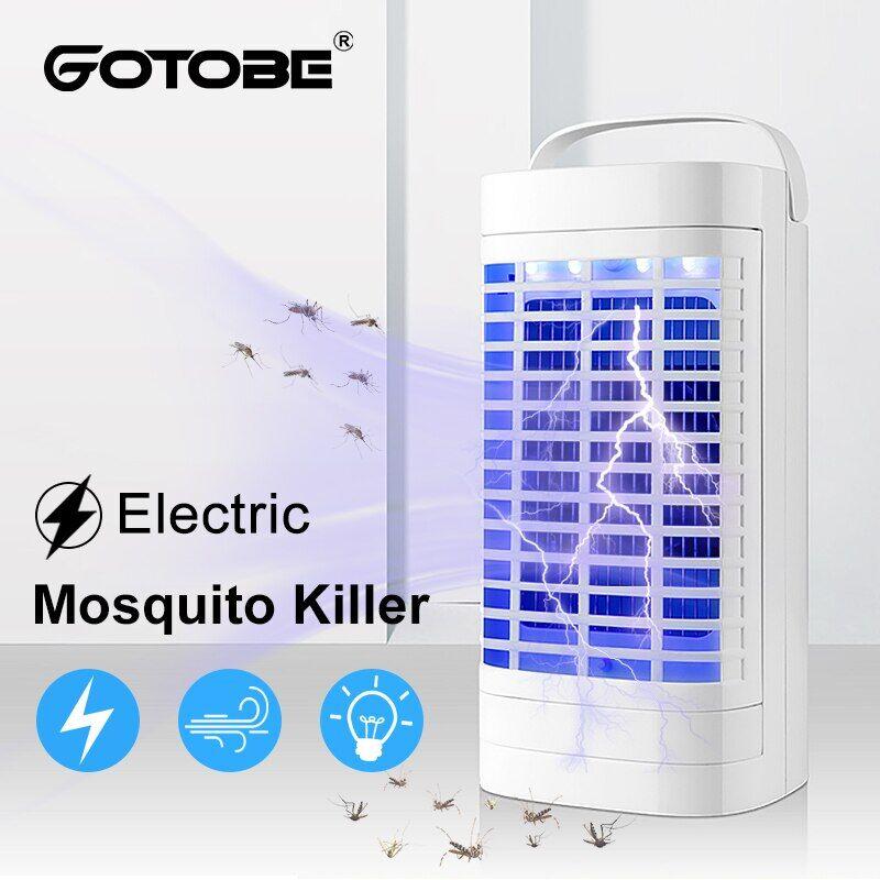 AliExpress Lampe électrique anti-moustiques UV 365nm, prise USB/EU/US, vent fort, piège à insectes pour la