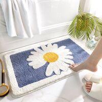 AliExpress Marguerite – tapis de salle de bain antidérapant épais, paillasson de salle de bain, décoration de <br /><b>16.19 EUR</b> AliExpress - FR