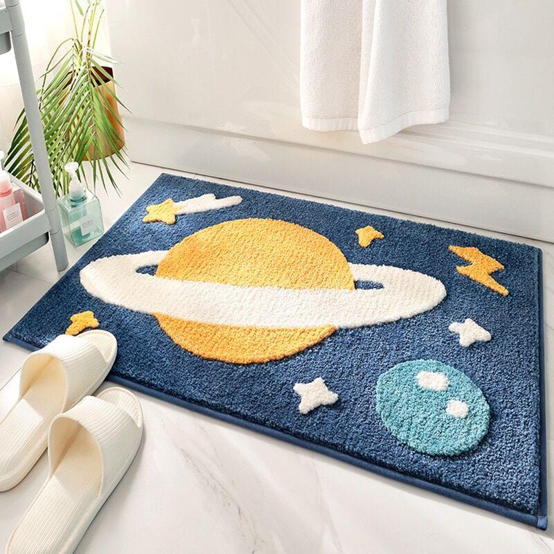 AliExpress Tapis de salle de bain à motif de dessin animé, décoration de chambre d'enfants, paillasson de sol