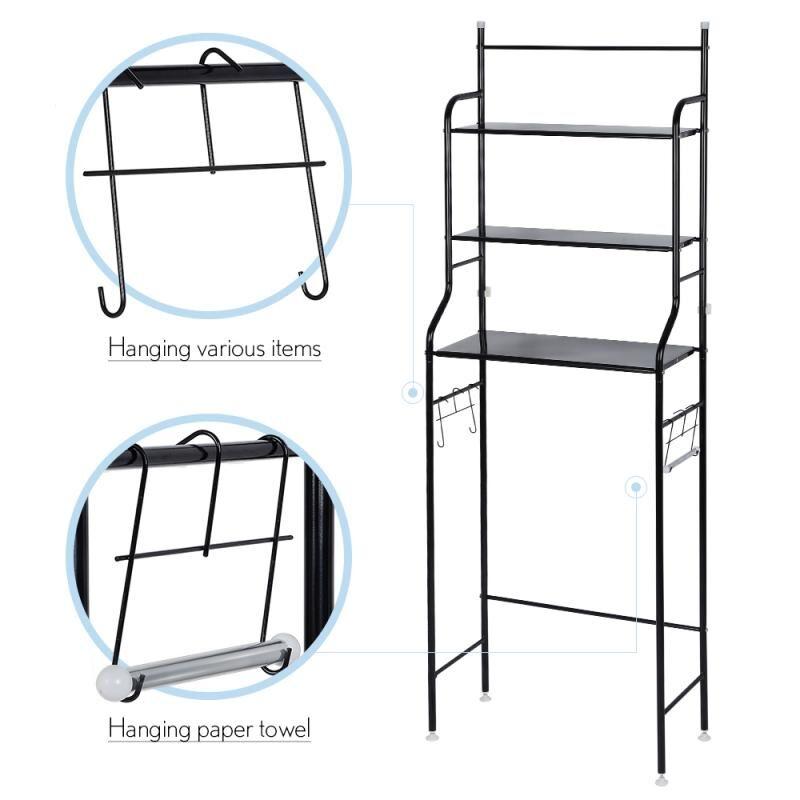 AliExpress HWC – étagère en acier inoxydable pour salle de bain, armoire de toilette, cuisine, Machine à laver,