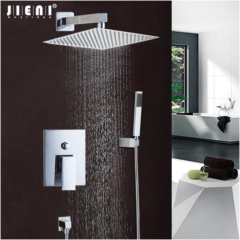 AliExpress JIENI – ensemble de robinets mélangeurs de bain-douche, bonne qualité, meilleur prix, poli Chrome,