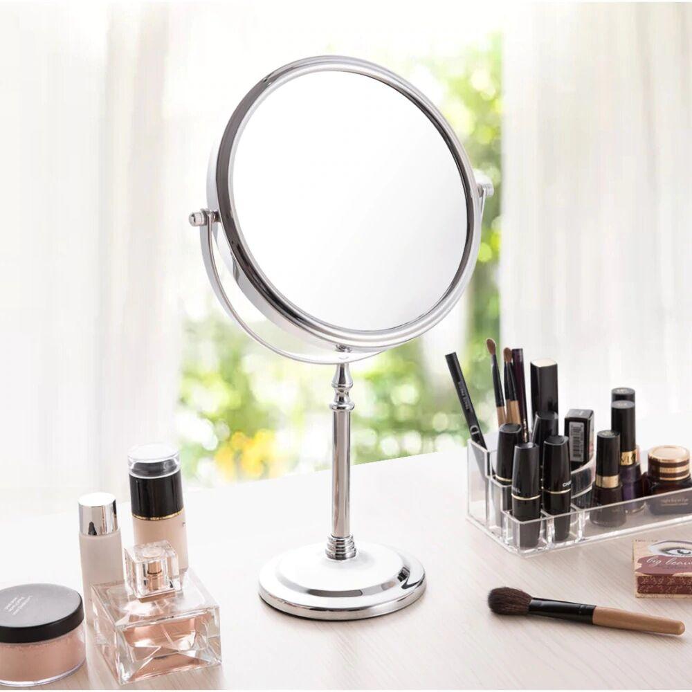 """AliExpress Miroir de maquillage 8 """"5X 7X 10X, miroir cosmétique de bureau, chambre à coucher, loupe Double"""
