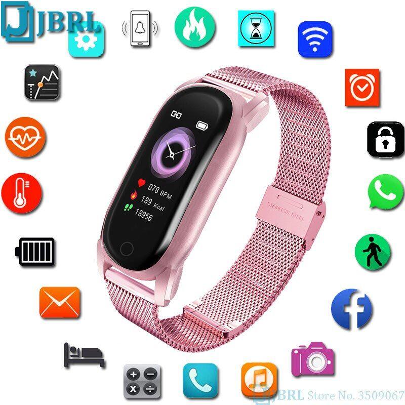 AliExpress Montre connectée pour Android et IOS, Bracelet de sport, moniteur d'activité physique, étanche,