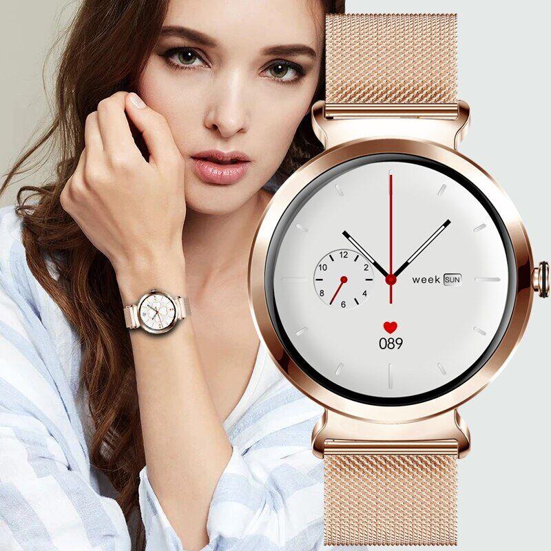 AliExpress LIGE – montre connectée de luxe pour femmes, étanche, avec moniteur d'activité physique, pour