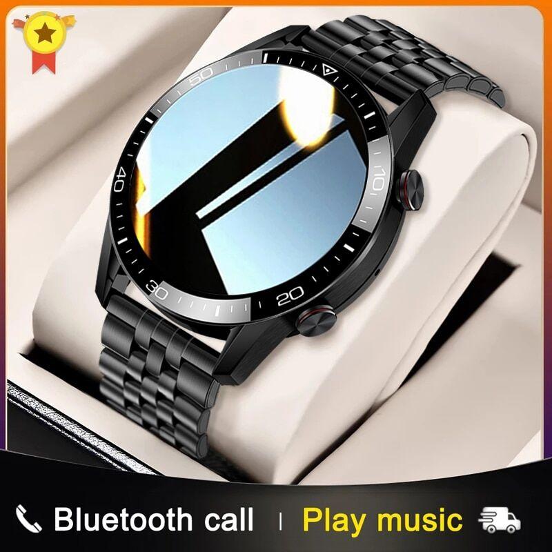 AliExpress Montre connectée de luxe pour hommes, Bluetooth, appel, Sport, moniteur de fréquence cardiaque,