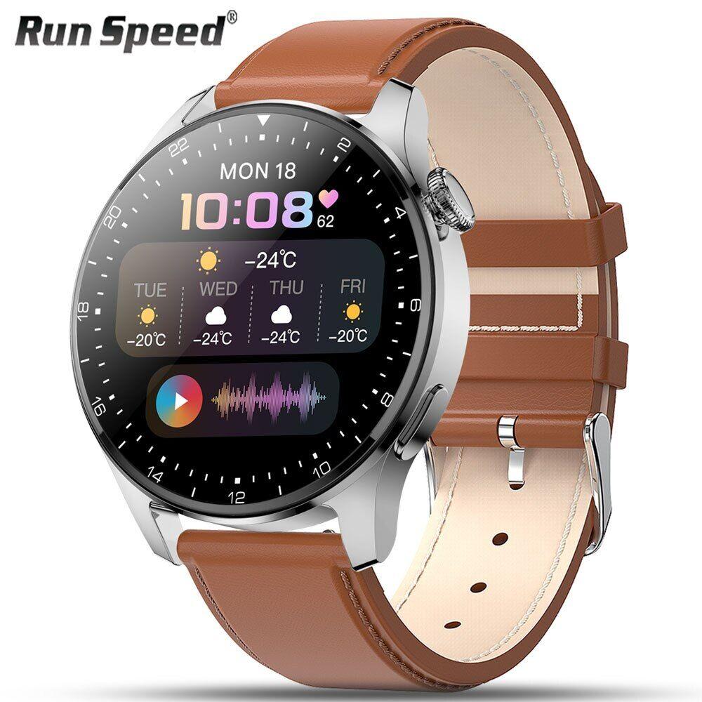 AliExpress Montre connectée pour hommes, Bluetooth, appel, écran tactile, Sport, Fitness, horloge, 3, pour
