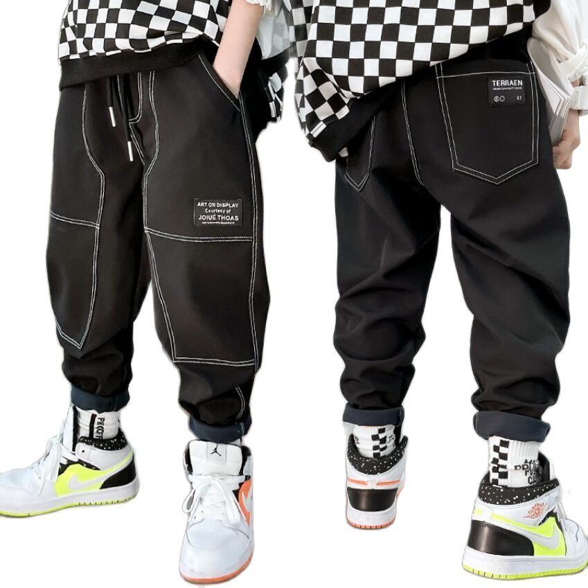 AliExpress Jean de printemps en coton pour bébé garçon, pantalon ample, chaud, en denim, pleine longueur, pour