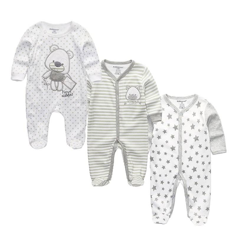 AliExpress Barboteuse à pieds en coton pour bébé de 0 à 12 mois, vêtements de dessin animé pour garçons et
