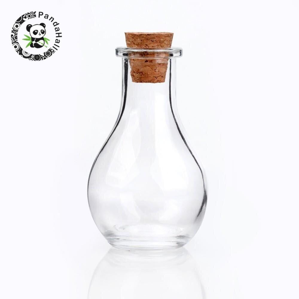 AliExpress Conteneurs de perles en verre transparent, 30 pièces pour trouver des cadeaux de bonbons, bouteilles