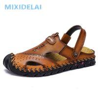 AliExpress Sandales romaines classiques en cuir pour hommes, chaussures confortables, sandales de plage <br /><b>16.54 EUR</b> AliExpress - FR