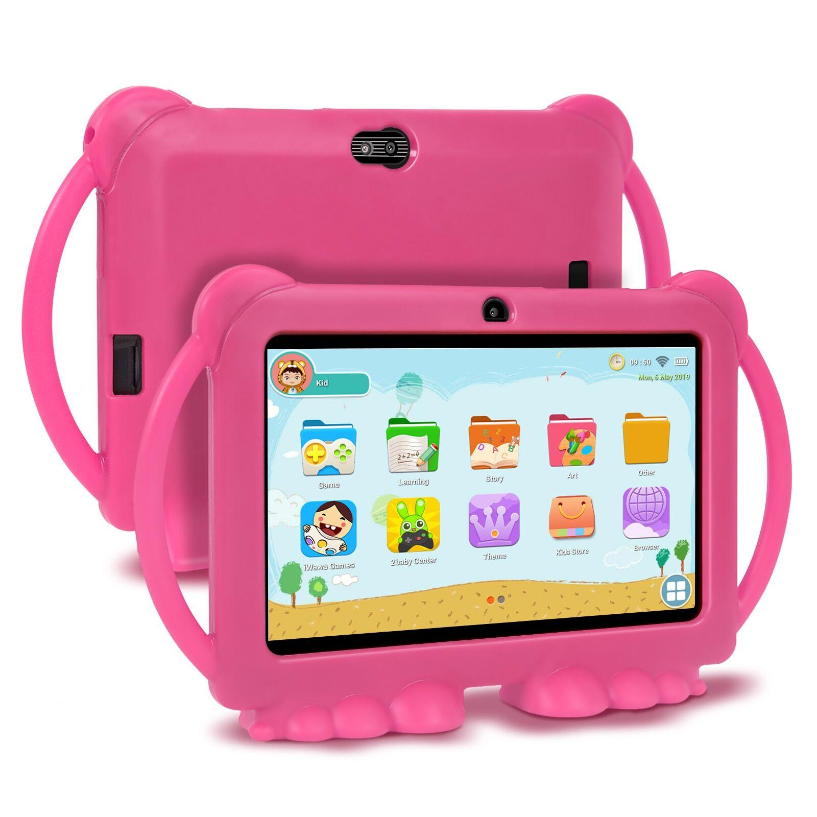 AliExpress Enfants Apprentissage ducation Tablette Cadeau Enfants Tablette 7 pouces HD avec Coque En Silicone