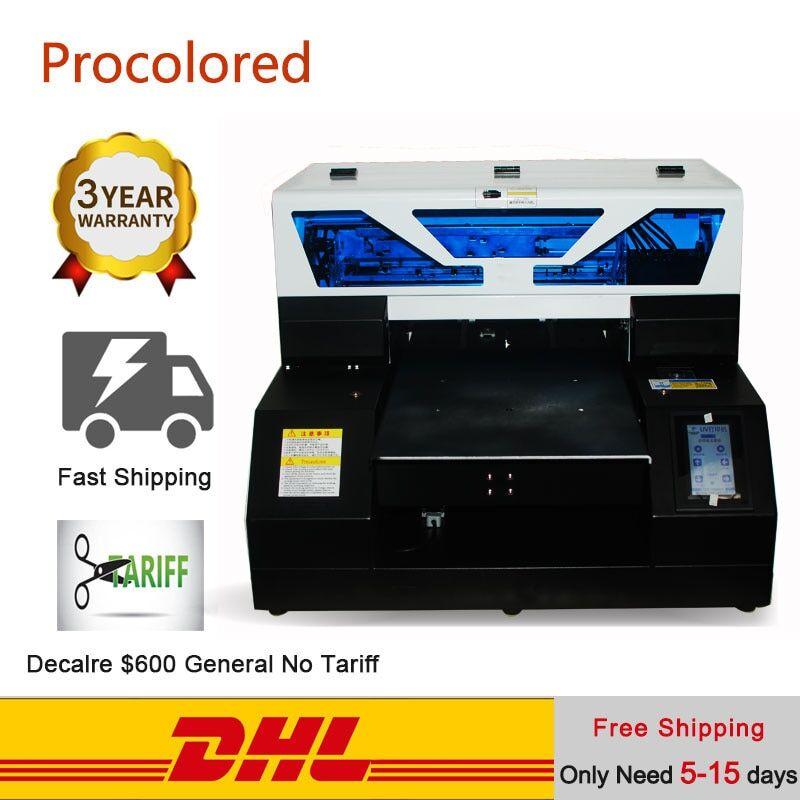 AliExpress Procolor – Machine d'impression pour T-shirt, impression automatique à plat, UV, en bois, DTG, A4 A3