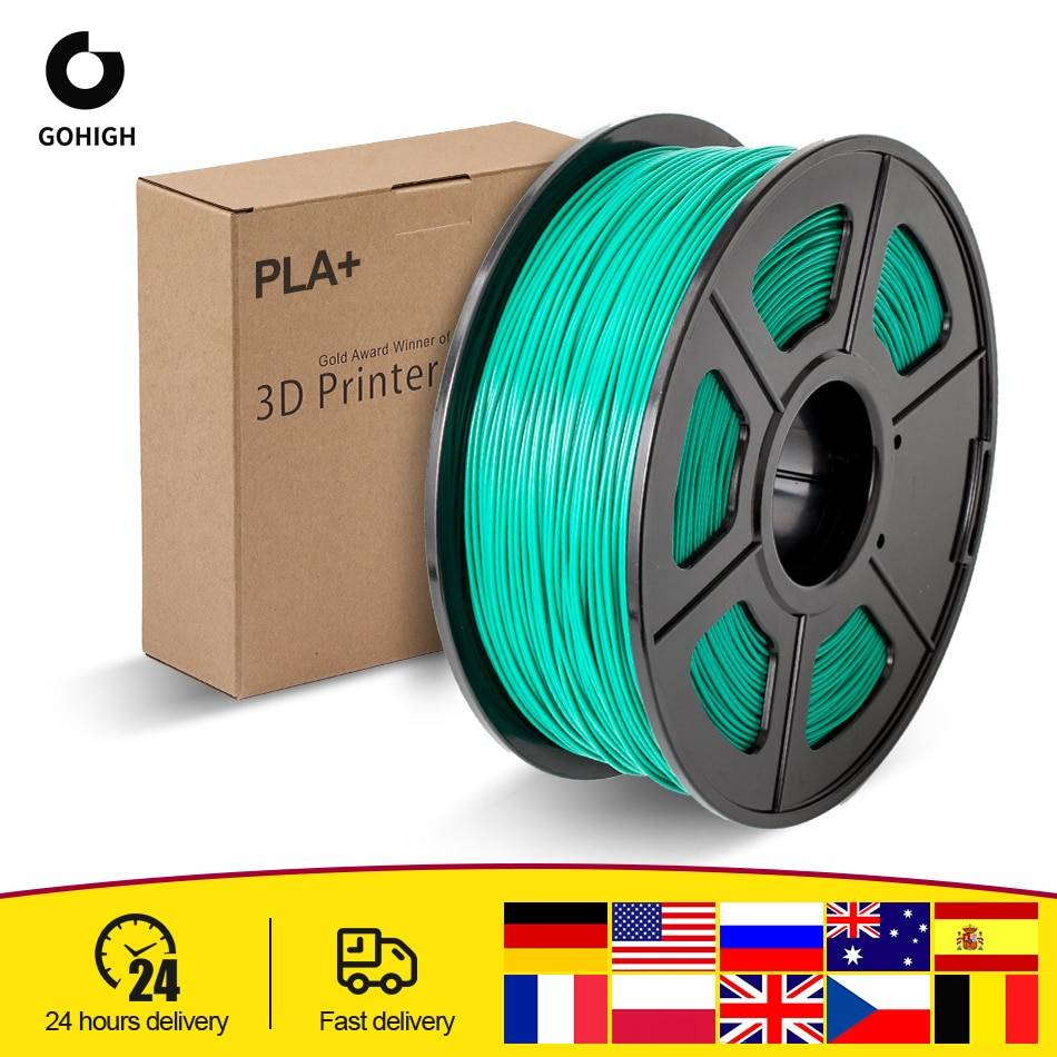 AliExpress GOHIGH – Filament pour imprimante 3D, matériau d'impression biodégradable, PLA Plus, 1.75mm, 2.2