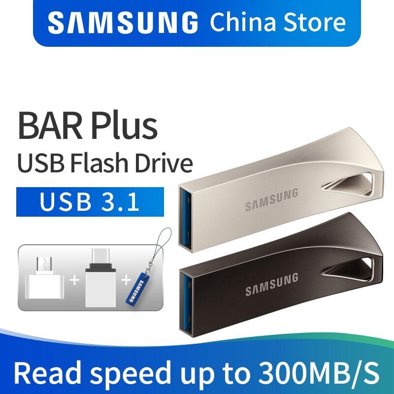 AliExpress SAMSUNG – Mini clé USB 128 256 en métal, support à mémoire de 32GB 64GB 3.1 GB 3.0 GB, dispositif de