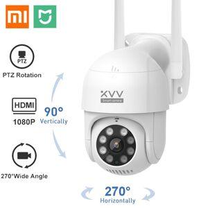 AliExpress Xiaomi – caméra de surveillance IP intelligente P1, PTZ, Wifi, 1080P, étanche, détection humanoïde, - Publicité