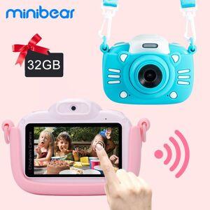 AliExpress Minibear – appareil photo numérique pour enfants, 1080P 4K HD, caméra vidéo, jouet, cadeau - Publicité