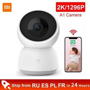 AliExpress Xiaomi Mijia – caméra intelligente 2K 1296P 1080P HD, WiFi, Vision nocturne, Angle à 360 degrés, - Publicité