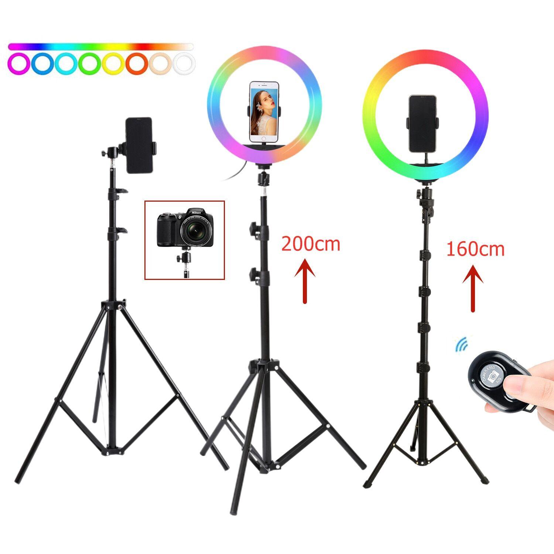 AliExpress 26cm 10 pouces Selfie Anneau LUMIÈRE LED Avec support Trépied Photographie studio anneau Lampes Pour