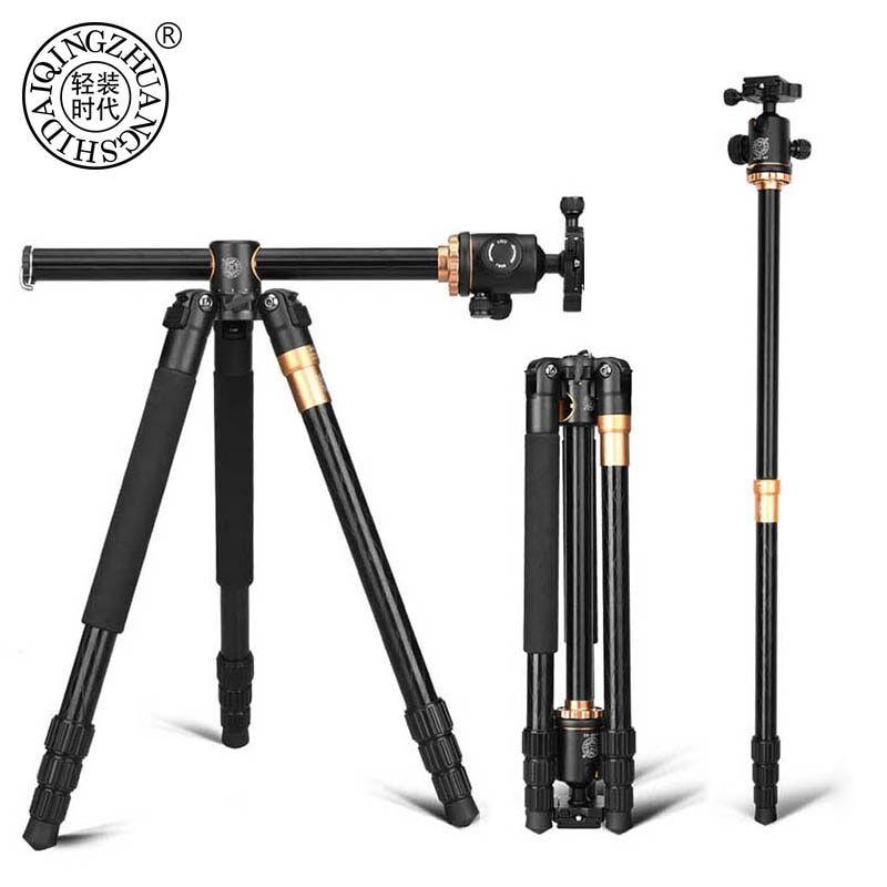 AliExpress QZSD – trépied de caméra en alliage d'aluminium Q999H, monopode vidéo professionnel extensible avec
