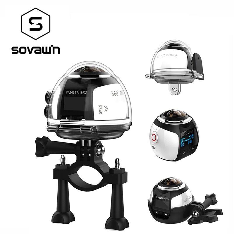 AliExpress Mini caméra panoramique 360 degrés VR 4K Wifi, vidéo 2448x2448 HD, Panorama 3D, réalité virtuelle,
