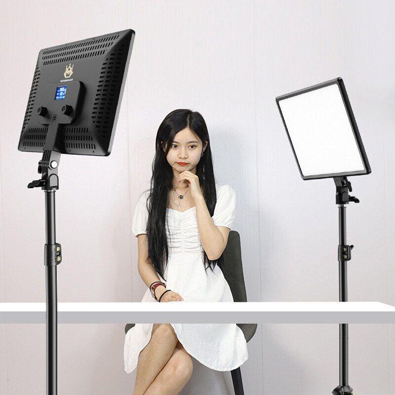 AliExpress 14 pouces 10 pouces LED Vidéo Panneau D'éclairage Prise UE 3200K-6000K Photographie clairage