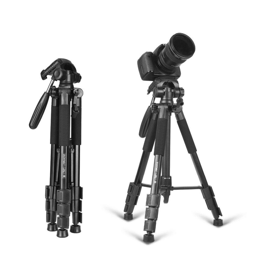 AliExpress Zomei — trépied professionnel portable de voyage Z666 en aluminium, trépied de caméra et d'appareil