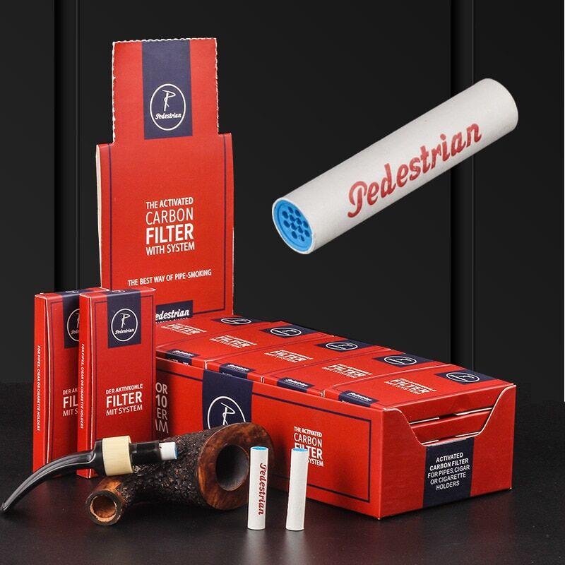 AliExpress Lot de 250 filtres pour Pipe à tabac, 9mm, charbon actif pour vapoteur, vente en gros