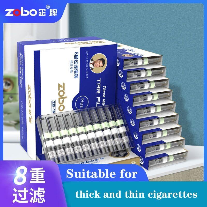 AliExpress ZOBO – porte-Cigarette jetable authentique, filtre à huit plis, charbon actif, Filtration VC, pour
