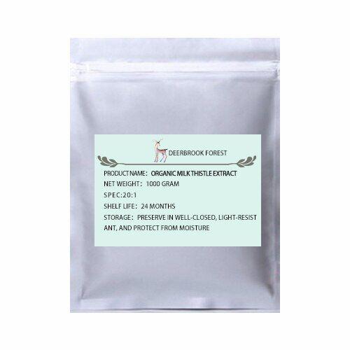 protec Extrait de silymarine sauvage de 100 à 1000g, extrait de chardon à lait en poudre 20:1, Silybum