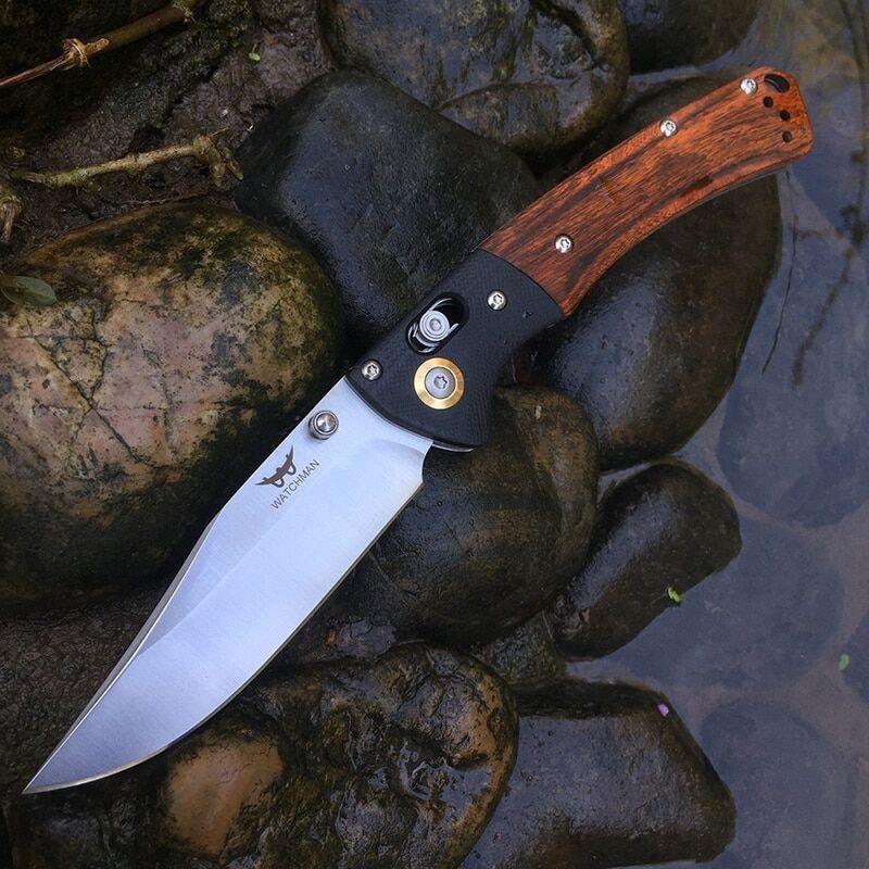 AliExpress Couteau de poche pliant lame D2, couteaux tactiques de survie EDC couteaux de chasse en plein air
