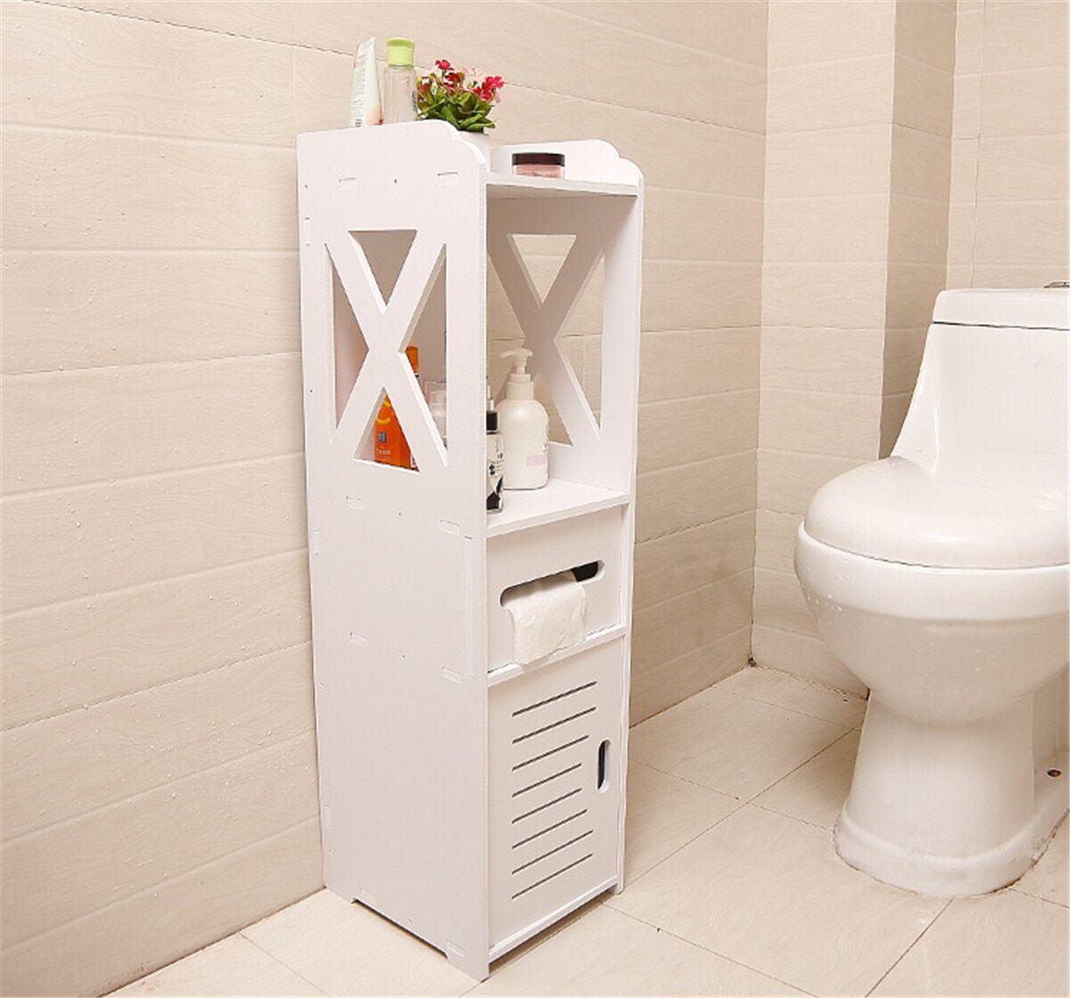 AliExpress Armoire de rangement étanche pour salle de bain, étagère de rangement au sol, organisateur debout