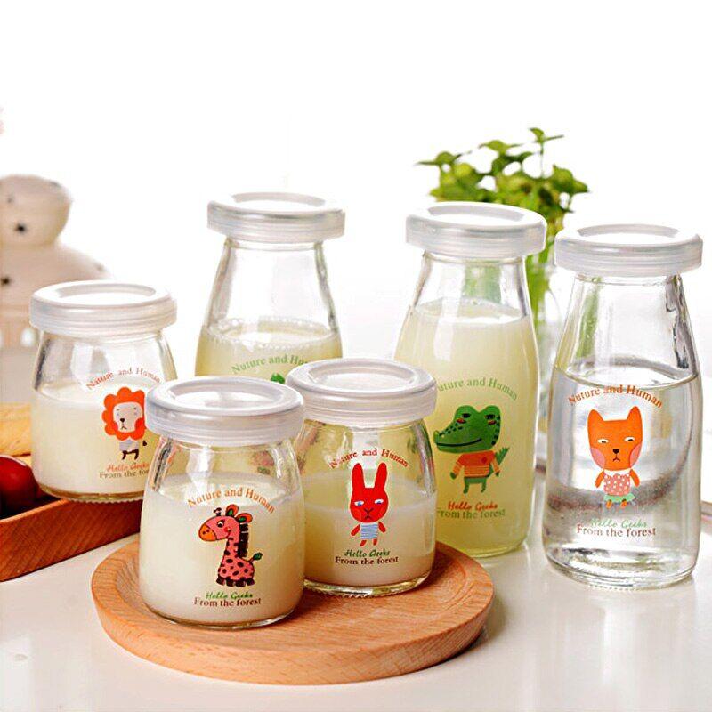 AliExpress Bocaux en verre avec couvercle pour préparation fait maison, pour conserver du lait, des compotes,