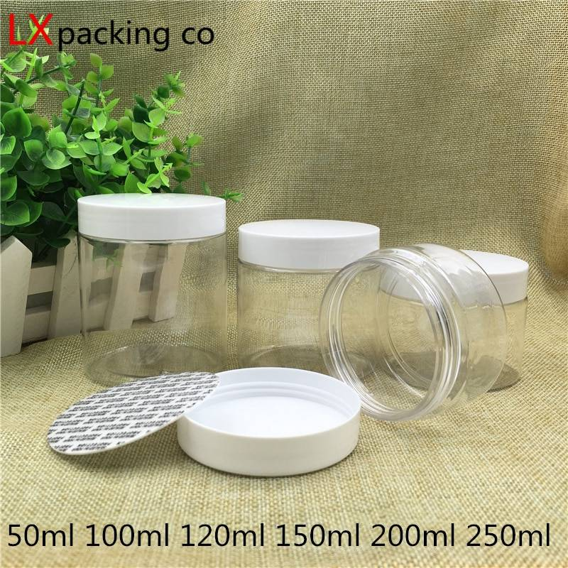AliExpress Bouteilles d'emballage en plastique transparent, contenant vide pour épices, bonbons de mariage,