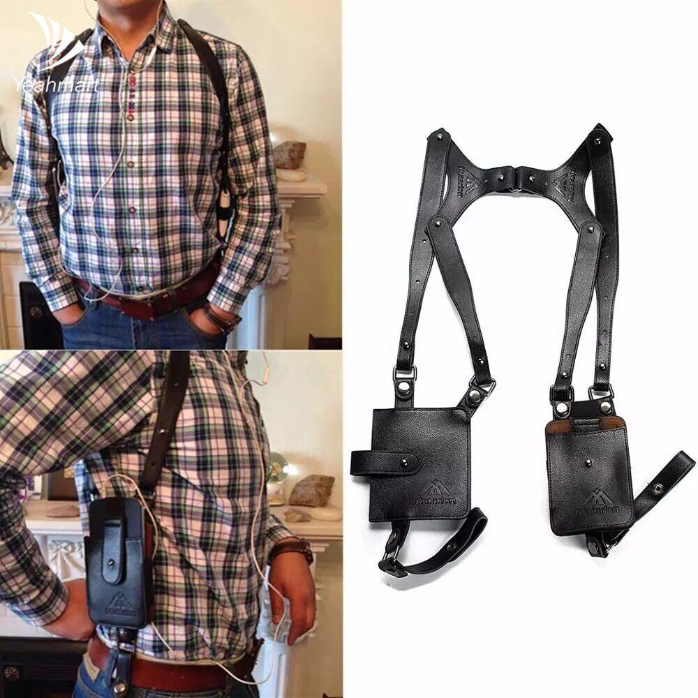 AliExpress Yeahmart – portefeuille de sécurité en cuir Anti-vol pour homme, sac de voyage en plein air,