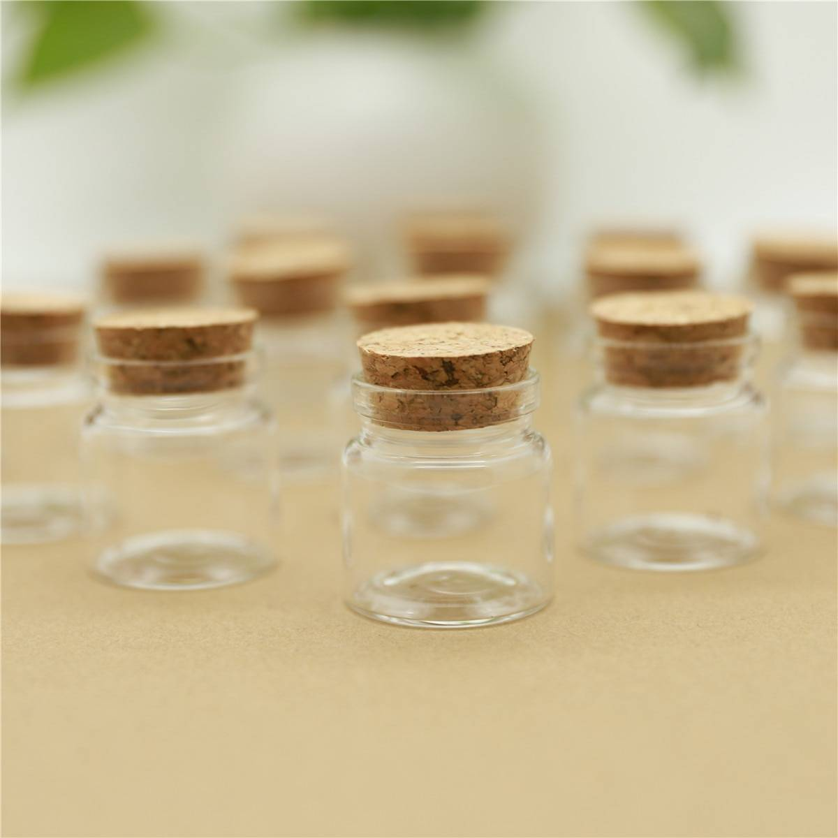 AliExpress Mini bocaux en verre de 37x40mm, 25ml, 50 pièces, bocaux de stockage d'épices, bouchons épicés,