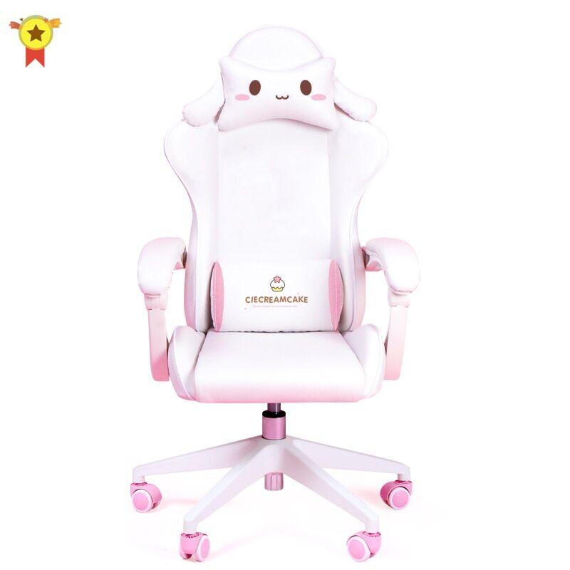AliExpress Chaises de bureau confortables et pivotantes de dessin animé, pour chambre à coucher, bureau,