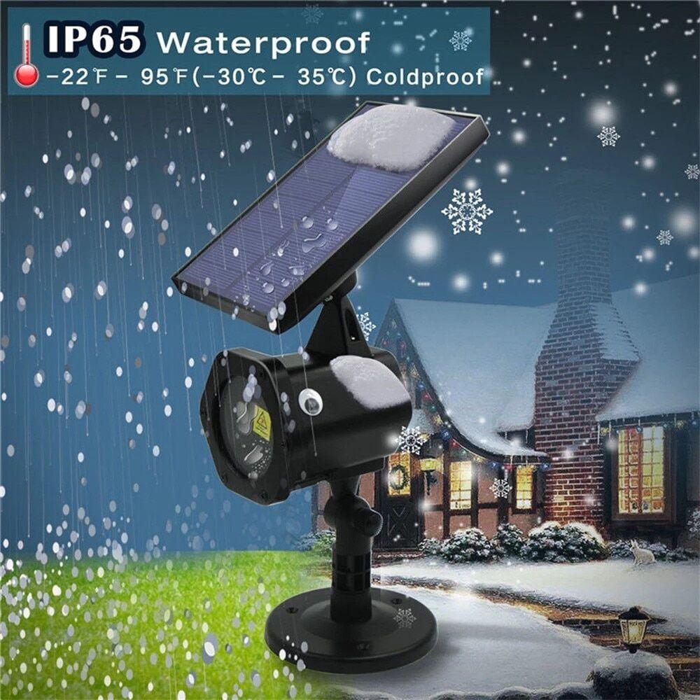 AliExpress Projecteur Laser de noël à énergie solaire, étoile du ciel, éclairage d'extérieur, lampe de pelouse
