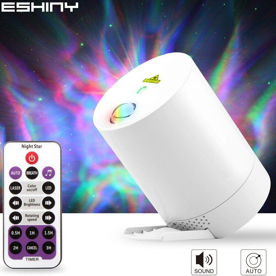 AliExpress ESHINY – projecteur Laser de ciel étoilé et galaxie, LED RGB, cadeau de sommeil pour enfants, lampe