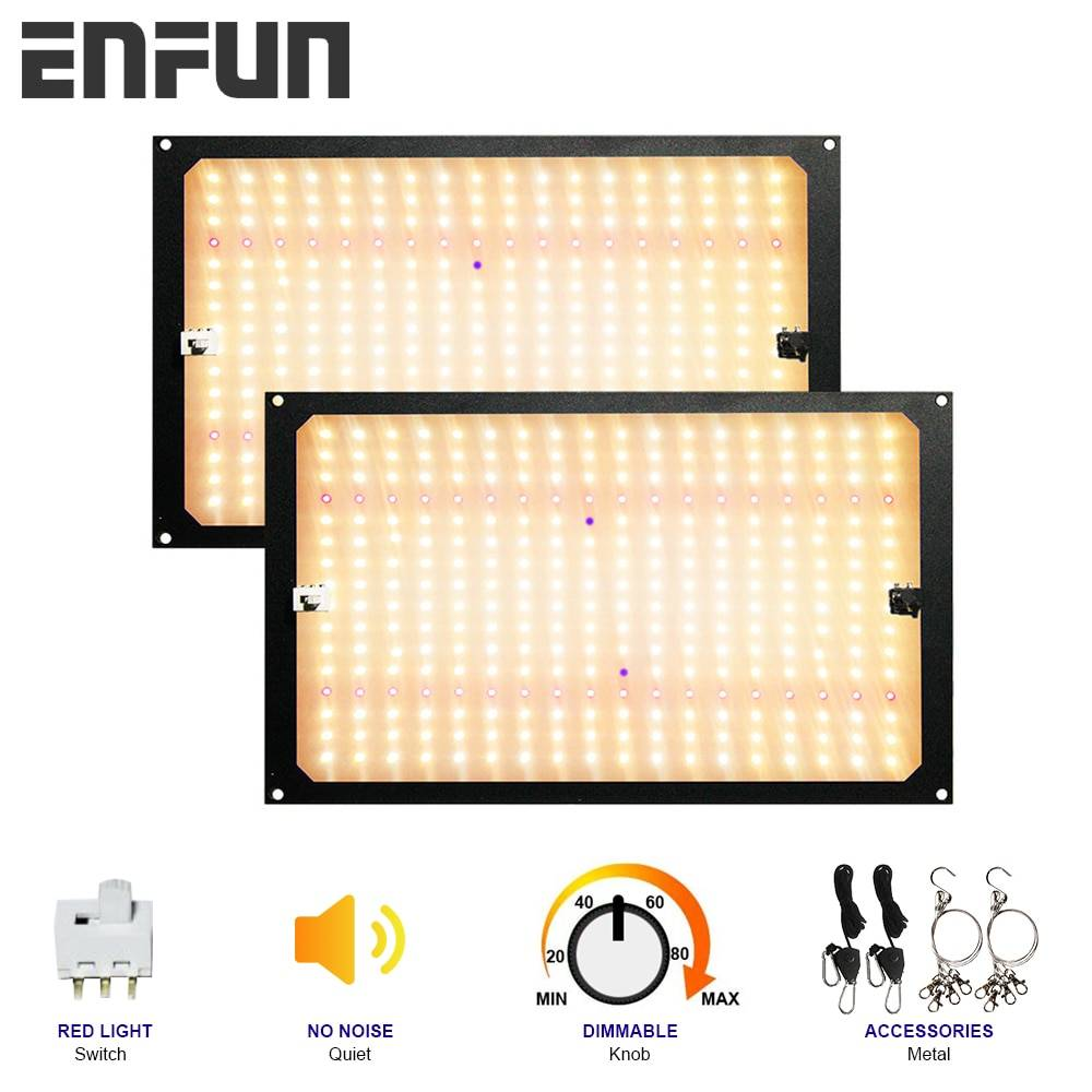 AliExpress EnFun 240W quantum Led Pousser panneau Lumineux lampe pour graines d'intérieur IR UV spectre complet