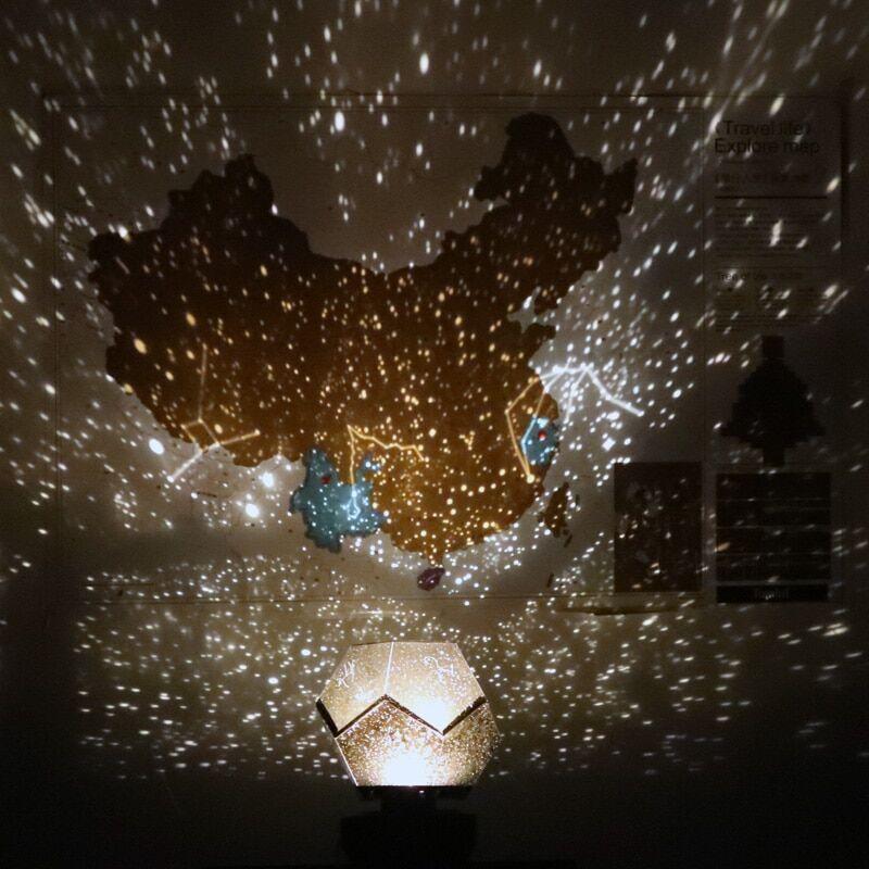 AliExpress Projecteur led de galaxie, planétarium, ciel étoilé, lampe de maison, décoration de table, chambre à