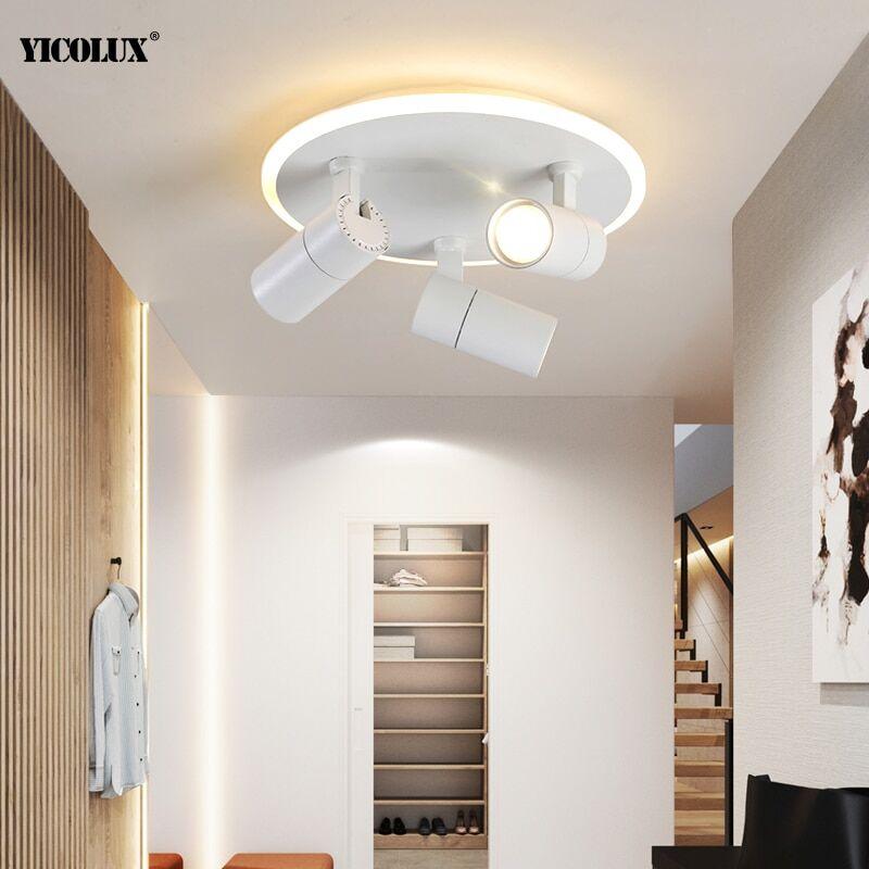 AliExpress Plafonnier LED blanc/noir, éclairage d'intérieur, entrée de maison ou de magasin hors ligne, idéal