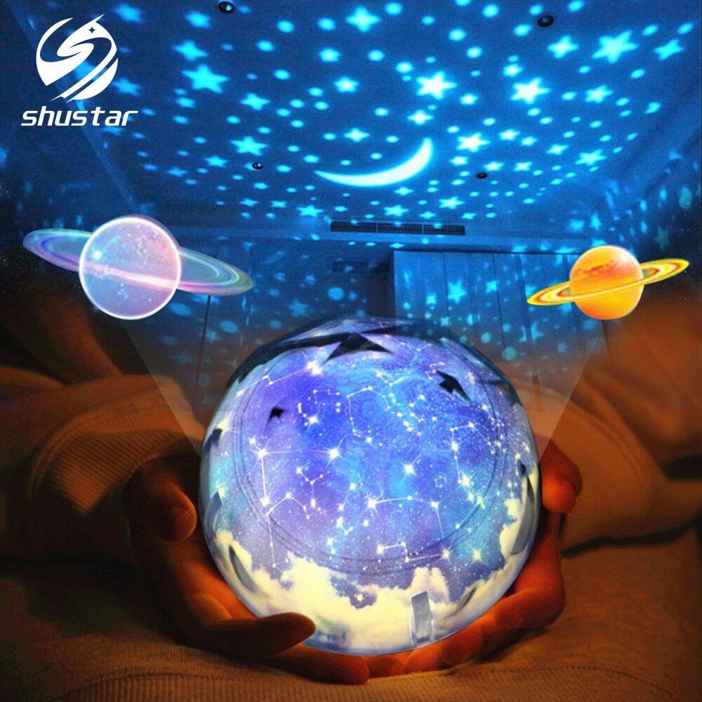 AliExpress Projecteur LED pour les crèches, produit l'image d'un ciel étoilé, de la terre, de l'univers et du