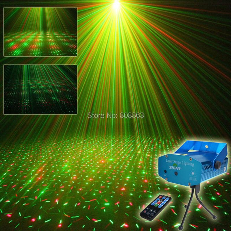 AliExpress Mini R & G – projecteur Laser à distance avec étoiles complètes, modèle de ciel, Club, Bar,