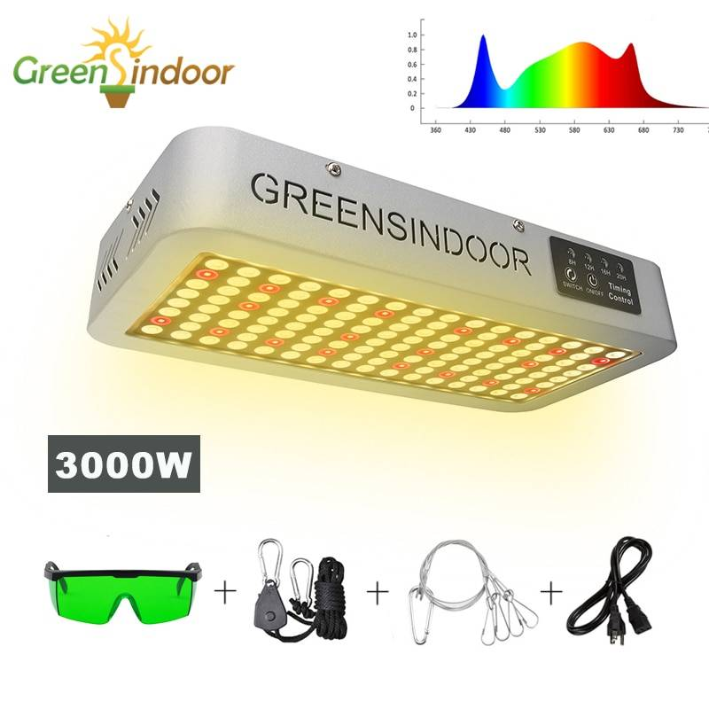 AliExpress Lampe horticole de croissance Led, 3500K/3000W, spectre complet, éclairage pour tente/chambre de
