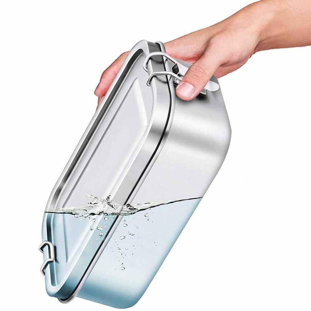 AliExpress Nouvelle boîte à déjeuner 304 boîte à Bento étanche avec anneau d'étanchéité en Silicone et en acier